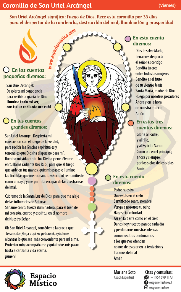 Coronilla San Uriel Arcángel