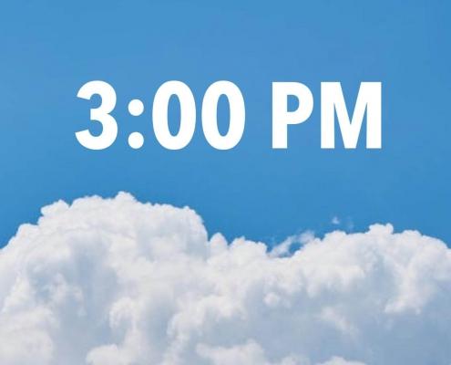 3:00 pm